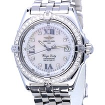 Breitling Wings Lady Stahl 31mm Perlmutt Römisch