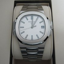 Patek Philippe Nautilus Steel 40mm White No numerals
