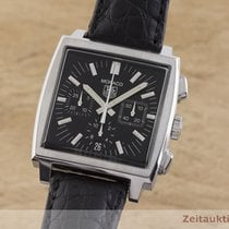 TAG Heuer Monaco Steel 38mm Black