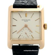 Patek Philippe Vintage Rose gold 28mm Silver No numerals