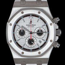 Audemars Piguet Royal Oak Chronograph Steel 39mm Silver