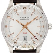 Union Glashütte Belisar GMT new 2020 Automatic Watch with original box and original papers D009.429.16.037.01