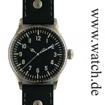 Mercure Chronometer 38.6mm Handaufzug neu Schwarz