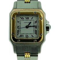 Cartier Santos Galbée pre-owned 24mm Gold/Steel