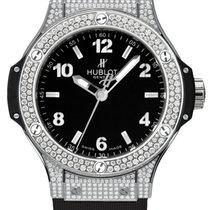 Hublot Big Bang 38mm Stainless Steel Diamonds Ladies Watch