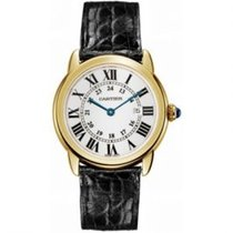 Cartier Ronde Solo de Cartier Yellow gold 36mm Silver Roman numerals United States of America, Pennsylvania, Holland