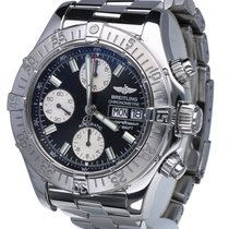 Breitling SuperOcean Chronograph Day-Date Pilot Steel 42 mm...