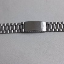 Tissot vintage stainless steel bracelet adjustable lugs  mm16-22