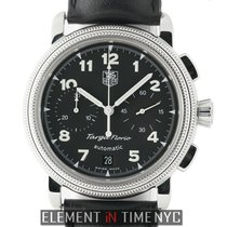 TAG Heuer Targa Florio Chronograph Stainless Steel 40mm Black...