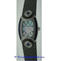 DeLaneau First Lady Diamond and Blue Sapphires Watch
