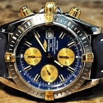 Breitling Chronomat Evolution Gold / Steel Blue Dial