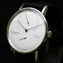 NOMOS Lambda White gold 42mm Gold No numerals