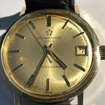 Eterna Centenaire pre-owned 35mm Date Leather