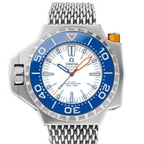 Omega Seamaster PloProf Titanium 50mm White United States of America, New York, New York