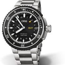 Oris ProDiver GMT 01 748 7748 7154-07 8 26 74PEB ORIS PRODIVER GMT Titanio 49 new