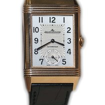 Jaeger-LeCoultre Reverso Duoface Rose gold 47mm Silver