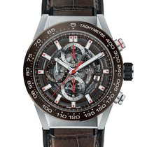 TAG Heuer Carrera Calibre HEUER 01 Steel 43mm Transparent
