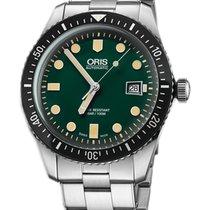 Oris Divers Sixty Five Steel 42mm Green