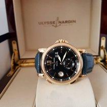 Ulysse Nardin Dual Time 18K Rose Gold