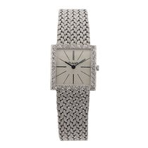 Piaget 9133 White Gold With Mesh Weave Bracelet 24MM
