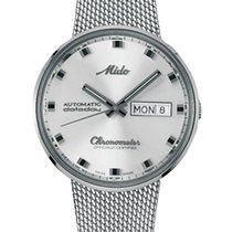 Mido Steel 37mm Automatic M8429.4.C1.11 new