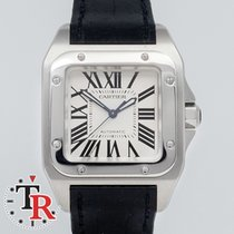 Cartier Santos 100 Medium Lady