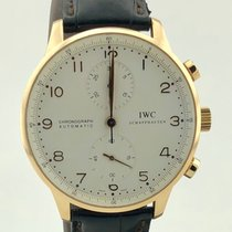 IWC Iw3714 Portuguese Chronograph Rose gold Pink gold