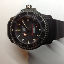 Tissot Seastar 1000 tweedehands 44mm Staal