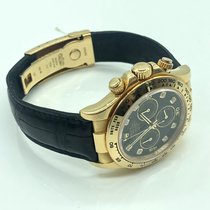 Rolex Daytona Geelgoud 40mm Wit Arabisch