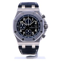 Audemars Piguet Royal Oak Offshore Chronograph Çelik 42mm Siyah Arapça