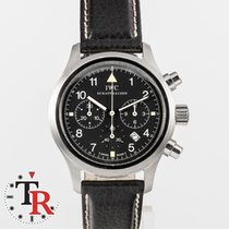 IWC IW3741 Steel Pilot Chronograph 38mm