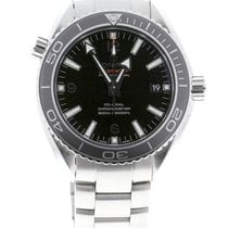 Omega Seamaster Planet Ocean 600M Co-Axial Black 42 Stainless...