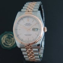 Rolex Datejust Everosegold/Steel NEW 116231 Pink Dial