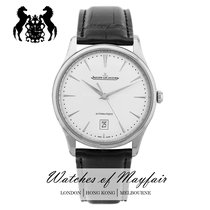 Jaeger-LeCoultre Master Ultra Thin Date Acier 39mm Argent
