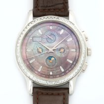 Zenith Academy Platinum 45mm Mother of pearl No numerals