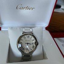 Cartier usados Automático 42mm Blanco Cristal de zafiro 1 ATM