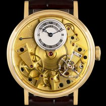 Breguet Tradition Yellow gold 39mm Champagne Roman numerals