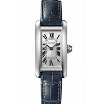 Cartier Tank Américaine new 2020 Quartz Watch with original box and original papers WSTA0016