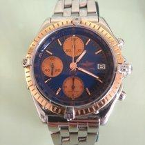 Breitling Chronomat C13047 Sehr gut Gold/Stahl 40mm Automatik