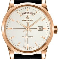 Breitling Transocean Day & Date Rose gold 43mm Silver United States of America, California, Moorpark