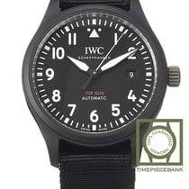 IWC Pilot Chronograph Top Gun Keramiek 41mm Zwart Arabisch