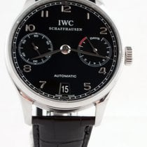 IWC IW500109 Steel Portuguese Automatic 42mm pre-owned United States of America, New York, Greenvale