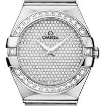 Omega Constellation Brushed 27mm 123.55.27.60.99.001