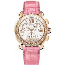 Chopard 283583-5001 Happy Sport Chronograph in Rose Gold with...