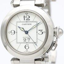 Cartier Pasha C Big Date Steel Automatic Unisex Watch W31055m7...