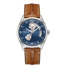 Hamilton Men's H32705041 Jazzmaster Open Heart Watch