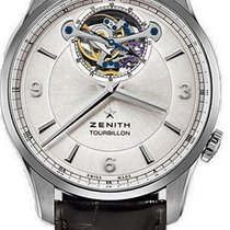 Zenith Elite Tourbillon Acero 40mm