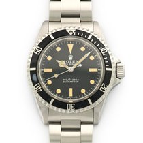 Rolex Steel Submariner Non-Comex Gas Escape Watch Ref. 5514