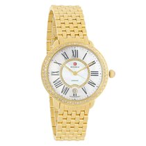Michele Serein 16 Series Diamond MOP Swiss Quartz Watch...