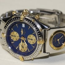 ブライトリング Chronomat Chronograph BLUE + UTC